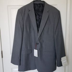 Merona 2 Button Pinstripe Suit Jacket 42L